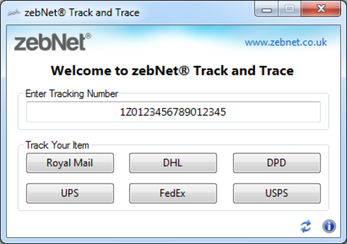 zebNet Track and Trace 2012 R2