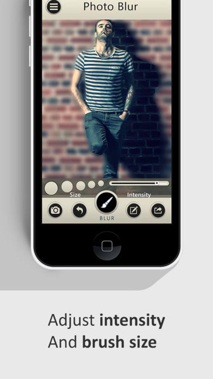 Photo Blur Wallpaper Booth App