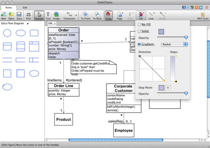 Clickcharts mac flowchart software mac download clickcharts mac flowchart software ccuart Images
