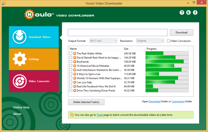 Houlo Video Downloader