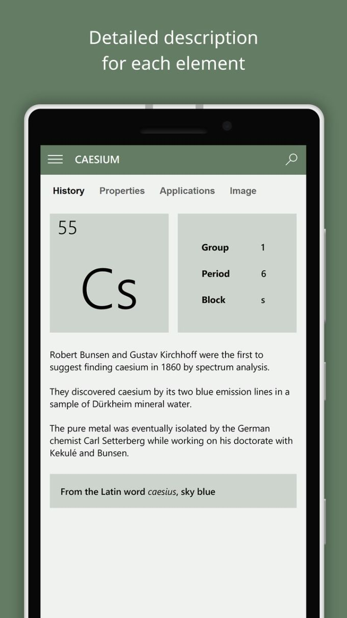 ElementsThe Periodic Table