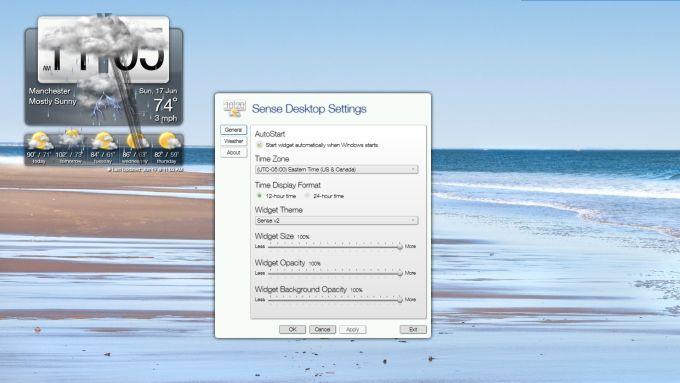 Sense Desktop