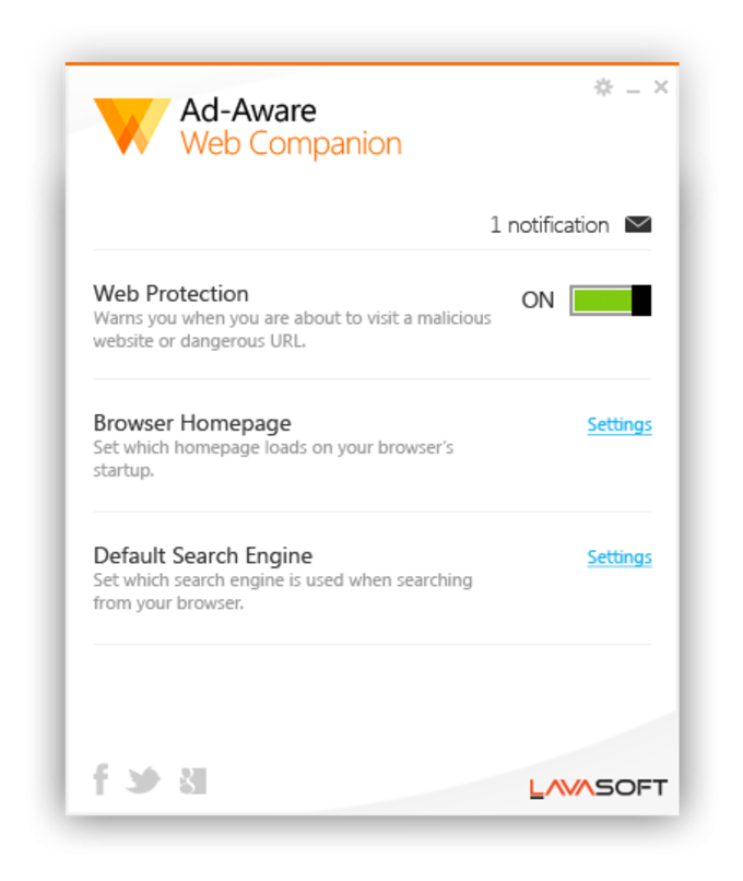 Ad-Aware Web Companion