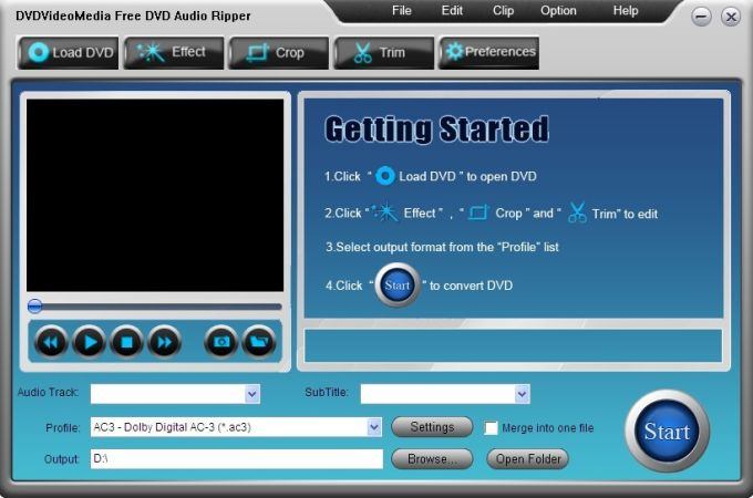 Free DVD Audio Ripper