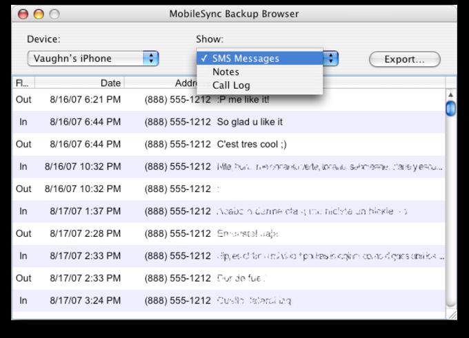 MobileSyncBrowser