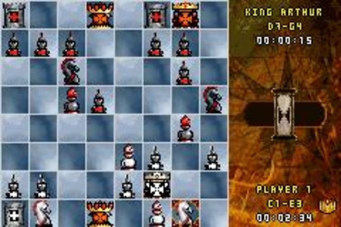 Medieval Kings Chess II for Blackberry