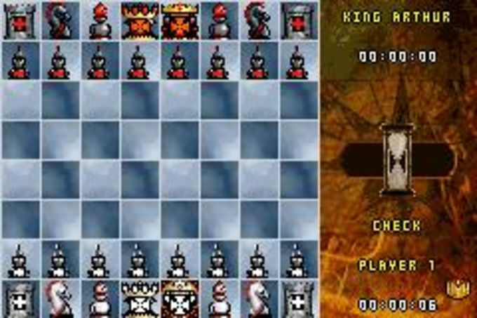 Medieval Kings Chess II pour BlackBerry