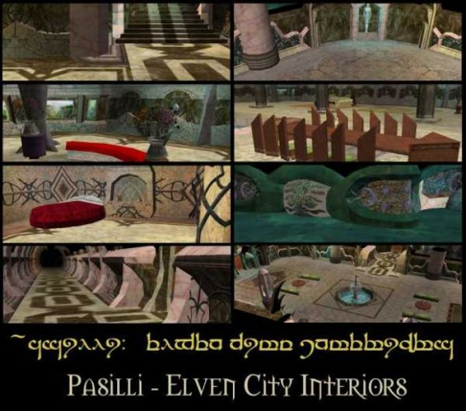 Elven City Interiors (Tileset hakpack)