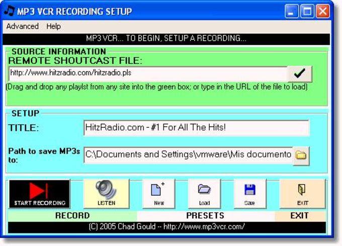 MP3 VCR