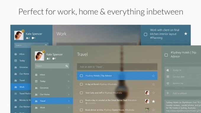 Wunderlist for Windows 10