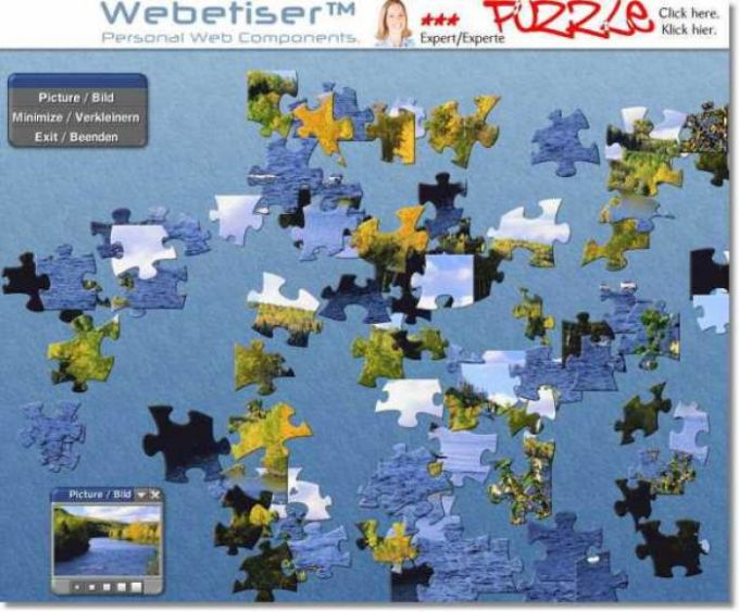 Webetiser Puzzle Best of 2004 Package