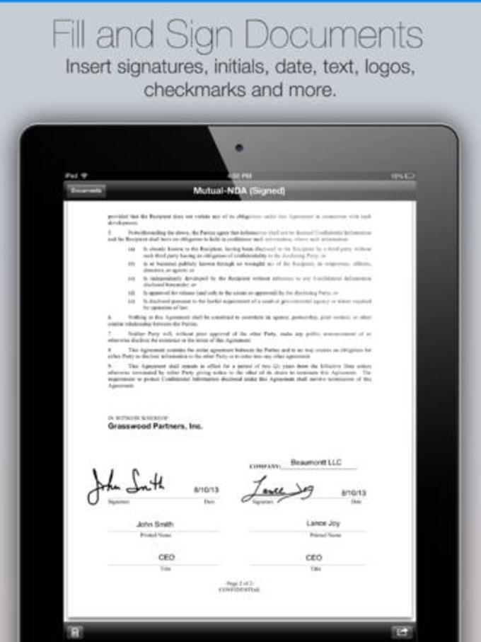 SignEasy - Firme PDFs y Documentos