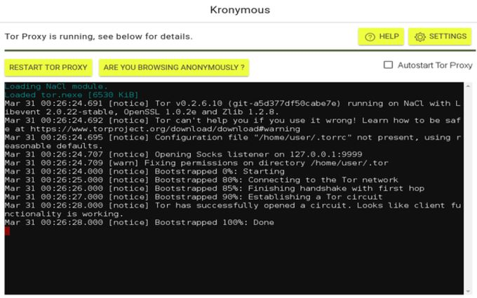 Kronymous for Chrome