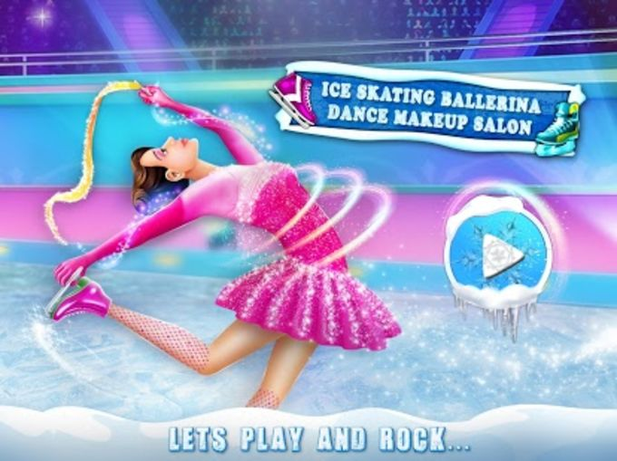 Ice Skating Ballerina Dance Makeup Salon