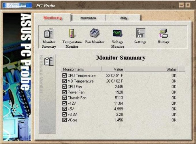 ASUS PC Probe