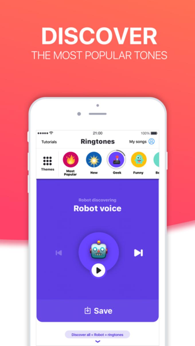 Ringtones HD Ringtone Maker for iPhone - Download