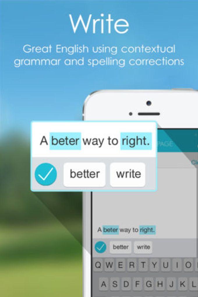 PAGE Grammar Spell Checker
