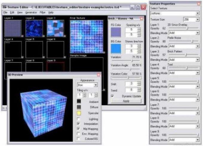Texture Editor
