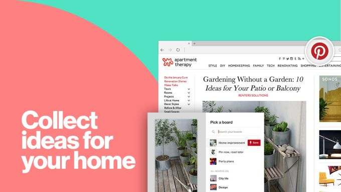 Pinterest Save Button