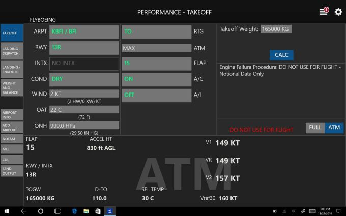 Onboard Performance Tool