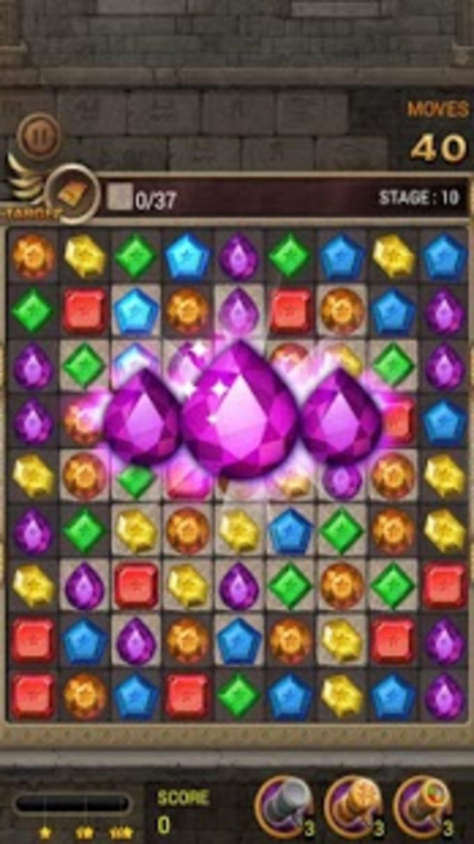 Jewels Temple Quest : Match 3