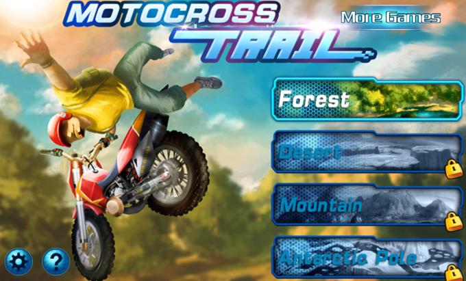 Motocross trial - Xtreme bike