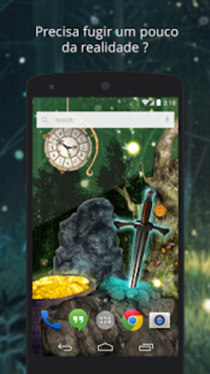 UR 3D Bosque mágico HD Animado