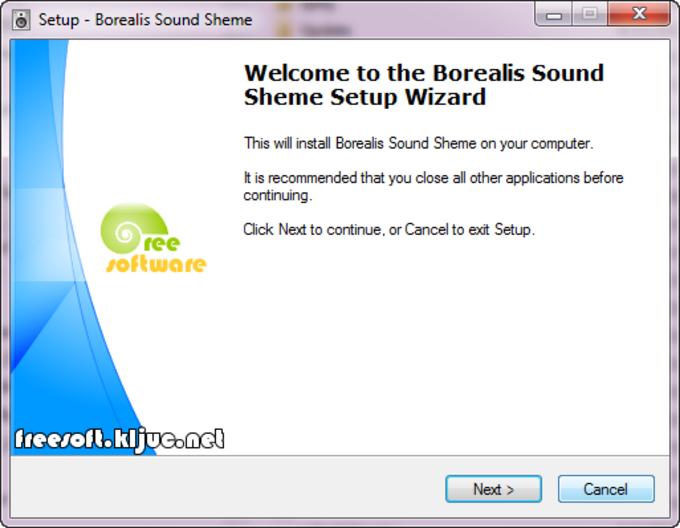 Borealis Sound Scheme