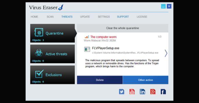Virus Eraser LifeTime
