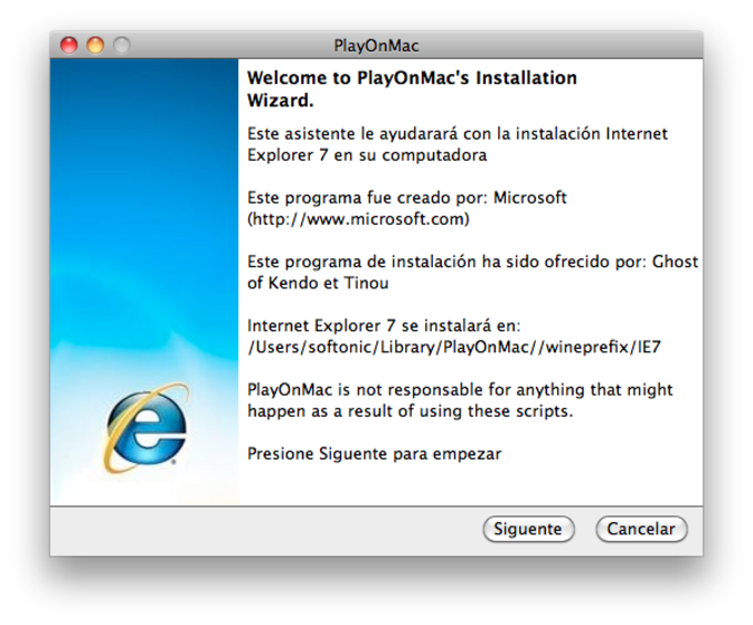 PlayOnMac