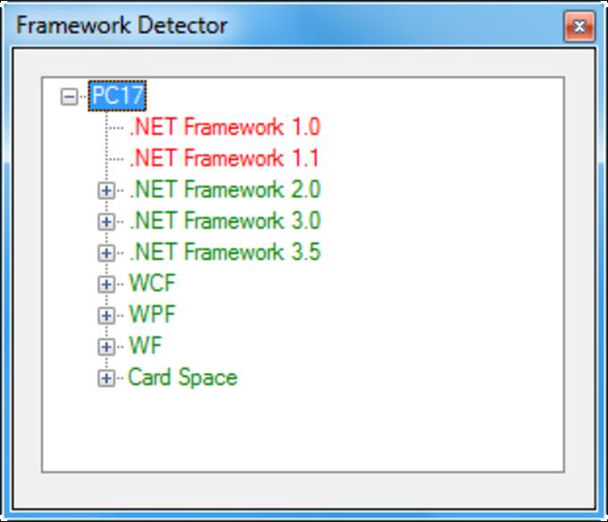 Framework Detector