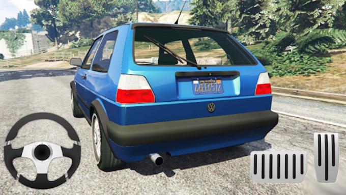 Golf Volkswagen Drift Simulator