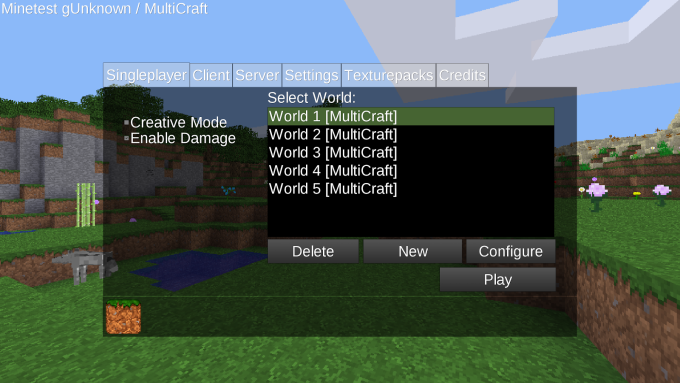 MultiCraft Beta