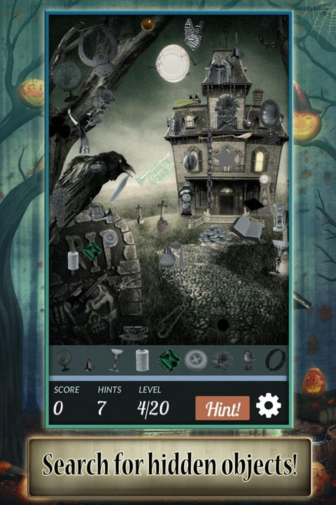 Hidden Object: Halloween House