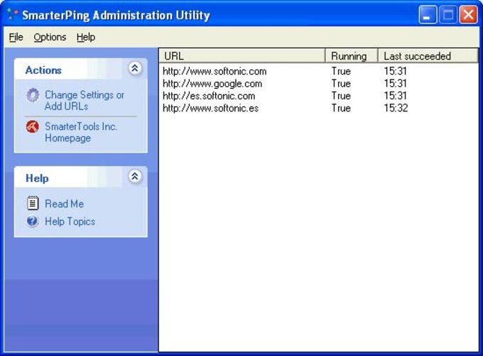SmarterPing Administration Utility