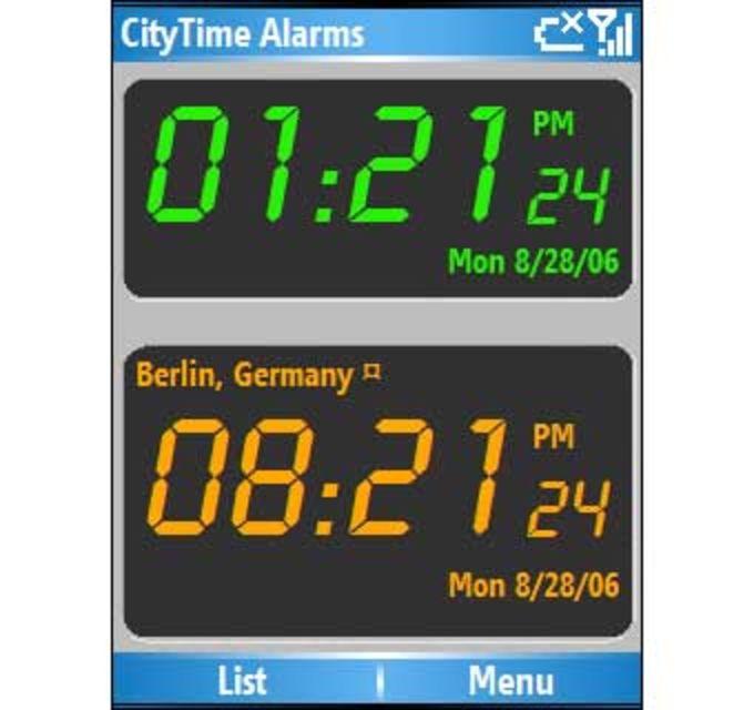 CityTime Alarms