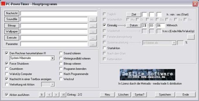 PC-PowerTimer