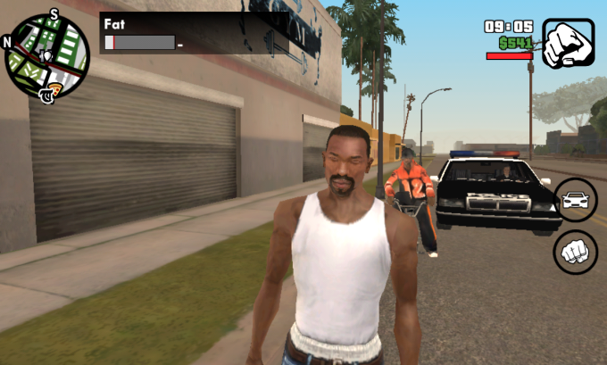 Grand Theft Auto: San Andreas voor Windows 10