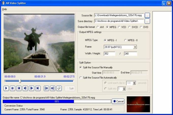 All Video Splitter