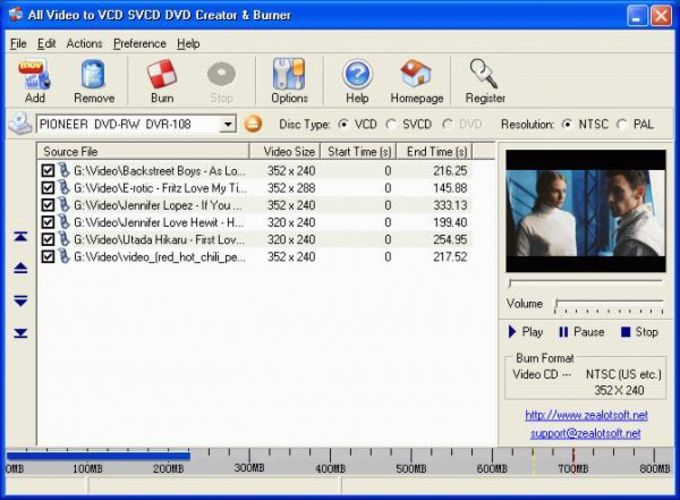 All Video to VCD SVCD DVD Creator & Burner