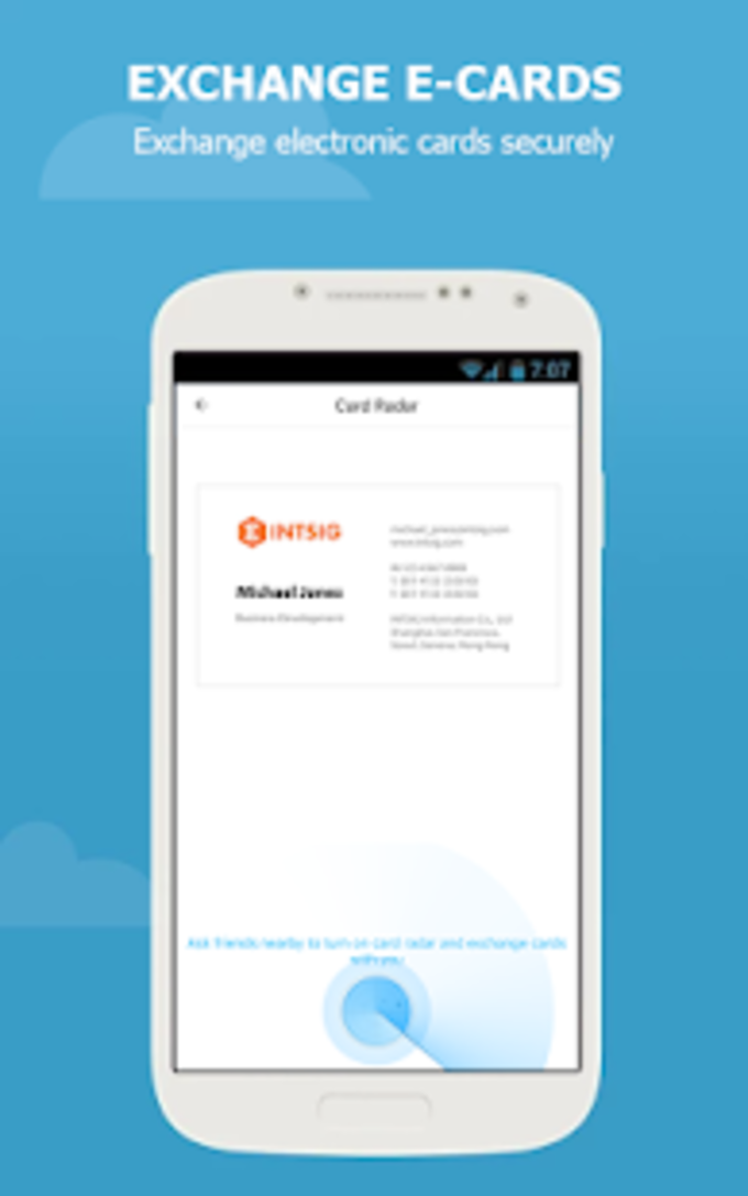Camcard Free Business Card R For Android Download
