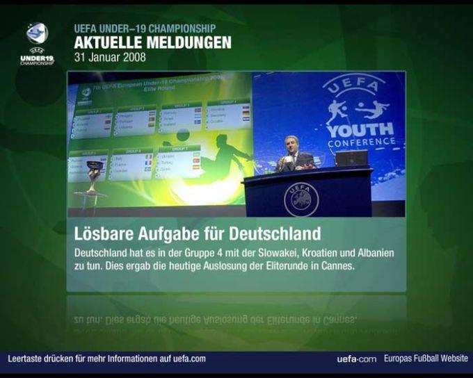 UEFA Dynamischer Bildschirmschoner