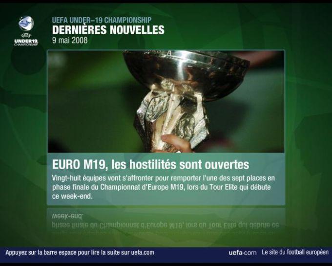 Economiseur d'écran UEFA