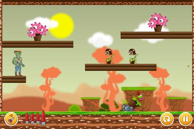 Undead vs Plants War The Living Dead Slayer
