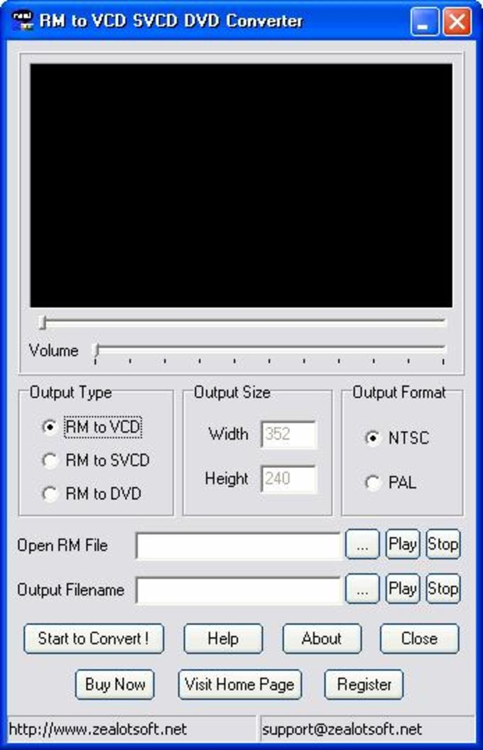 RM to VCD SVCD DVD Converter