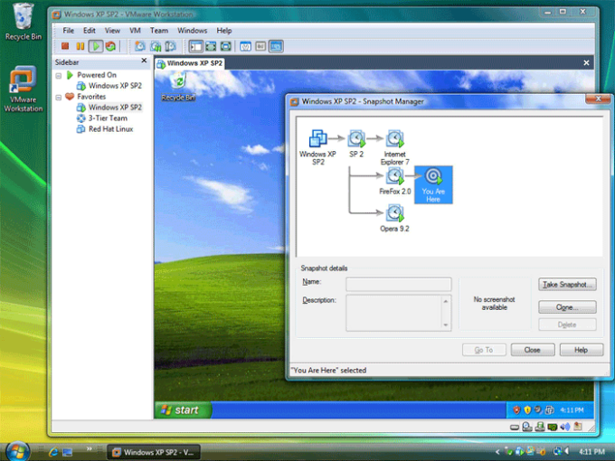 VMware Workstation Technology Preview 2012