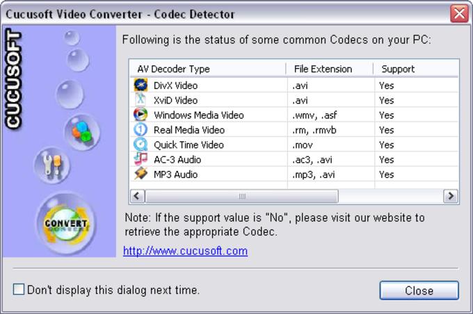 Cucusoft MPEG/MOV/RMVB/DivX/AVI to DVD/VCD/SVCD Converter