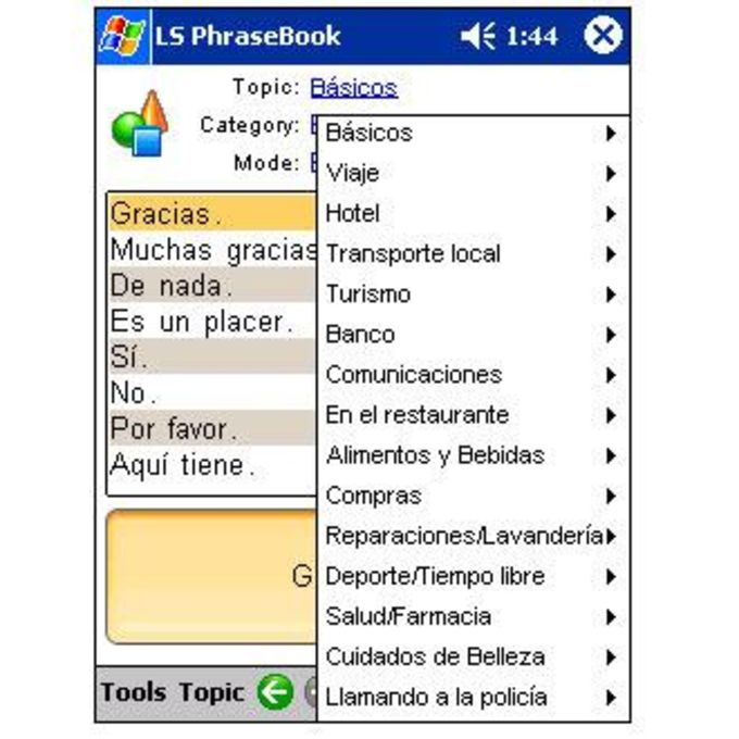 LingvoSoft Spanish-Italian PhraseBook 2006
