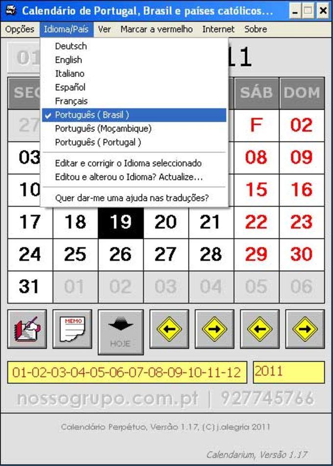 Calendário Perpétuo