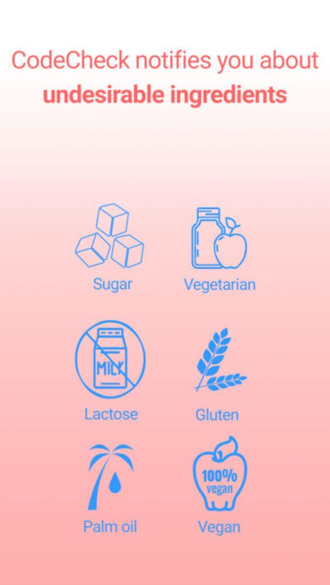 CodeCheck: Ernährung, Kosmetik